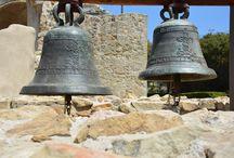 Mission San Juan Capistrano / Original Bell Tower Display
