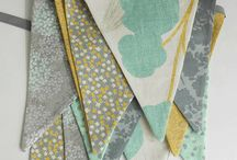 Fabric Combinations / Ideas for mixing colors and textures / by Holly Kruger