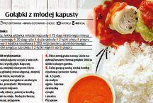 Przepisy kulinarne - gołąbki