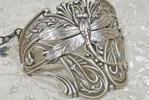 ÉKSZEREK, és Art Nouveau kincsek / szép ékszerek, készítésük...