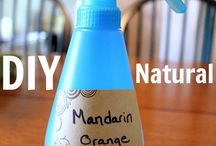 DIY natural cleaning solutions