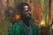 Paintings by LA-based artist Delfin Finley. / Paintings by LA-based artist Delfin Finley.  -----------------------------------------------------------------------------  SULEMAN.RECORD.ARTGALLERY: https://www.facebook.com/media/set/?set=a.396864587190233.1073741918.286950091515017&type=3  Technology Integration In Education: