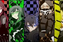Black☆ rock shooter / Black rock shooter is a Japanese media franchise based on characters created by illustrator Ryohei Fuke also known as Huke. A 50-minute original video animation based on the franchise was produced by Yutaka Yamamoto's studio Ordet, written by Nagaru Tanigawa and Shinobu Yoshioka, and directed by Shinobu Yoshioka. An eight-episode anime television series was produced by Ordet and Sanzigen.  https://en.wikipedia.org/wiki/Black_Rock_Shooter
