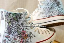 malované botky