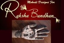 Mehndi designs for Rakshabandhan