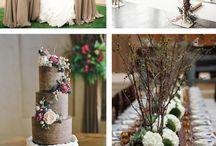 Creme and brown wedding