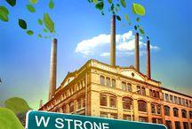 W STRONE GOSPODARKI NISKOEMISYJNEJ visual identity / PLAKAT / OKŁADKA / ZAPROSZENIE klient: Narodowy Fundusz Ochrony Środowiska i Gospodarki Wodnej 2014