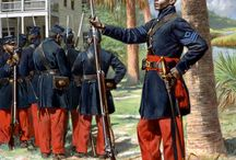 American Civil War / Uniforms and soldiers of the Amqerican civil war, from the Union and the Confederacy