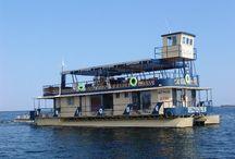 Houseboats on Kariba