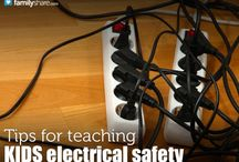 Electrical Safety / Protect yourself, your family and your home -- use electricity safely