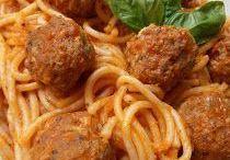 paradicsomos husgomboc spagettivel