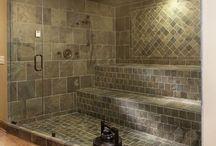 In da tub. / Bathrooms
