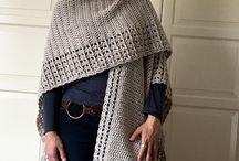 Crochet Ruana PATTERN, Crochet Cape Pattern, Blanket Shawl, Blanket Wrap, Blanket Scarf