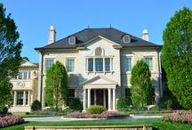 Morrocroft Mansion / Morrocroft Mansion. One of the largest custom built homes in all of North Carolina! It has a full stone exterior, with Indiana limestone trim and balustrades, featuring a steam bath, sauna, massage room, and yoga studio.