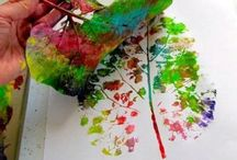 Kidsart / painting with kids