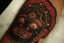 Tatuajes / tatto art / by Rodrigo Fortuna