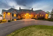"""9983 N. Heather Drive, Castle Rock, CO $1,999,000 / The name Belvedere means """"taking advantage of a view."""" This 8021 finished square-foot, five bedroom, six bath custom French Country ranch-style home perched on six acres atop a secluded ridge in Castle Rock dubbed """"Belvedere On Heather,"""" lives up to its moniker many times over."""