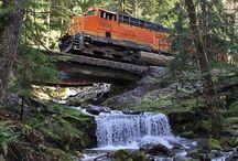 Kochání s vlaků s přírodou.....krása...