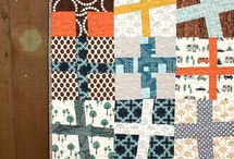 Quilting / quilt & fabrics / by Mary Lou S