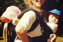 BABYWEARING / Babywearing on trail! Tips, carriers, and info for all the badass babwearing parents and caregivers.