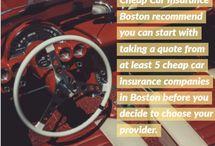 Start Saving On Car Insurance in Boston