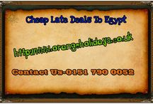 cheap late deals to egypt