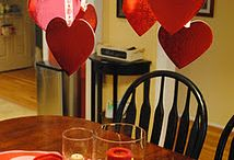 Valentines decorations / by Jen Rainey Hermanson