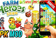 Farm Heroes Saga Apk + Mod (Lives/Hero/Moves) Android