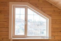 Деревянные окна и двери Бигвуд