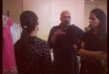 Lakme Fashion Week Fittings / Fittings for Lakme Fashion Week Winter/ Festive 2013