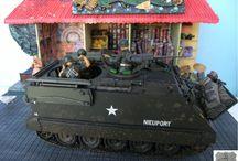 Ambush / Dioramas vehicles 1/35 Vietnam figurines scratch building  viet cong www.tapir-models.ro