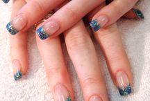 Nail Art from Mylinda Renay / Nails in Acrylic, solar, shellac, 3D nail art, Free hand nail art