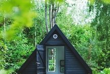 Garden: shack in the back / Detached extra dwellings, shacks & lounge spaces