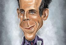 Zoolander 2 / Caricature dedicate a Ben Stiller e Owen Wilson