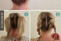 Frisuren und beaty