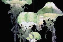 Jellyfish Inspired Lamps / Jellyfish Inspired Lamps