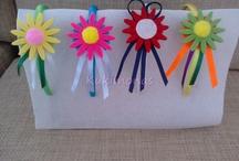 Diademas Flores / Diademas divertidas de flores con mucho colorido para esta primavera.