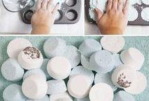 Recettes pour le bain relaxante