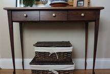 Oak designer furniture