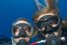 Underwater Selfies / A collection of Underwater Selfies to enjoy, We will start the ball rolling with some of ours but feel free to add your own