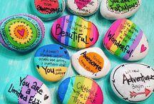 frases gostosas nas pedras