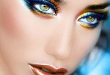 Make up / Beauty ideas for gorgeous tresses and a flawless face