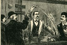Saloons and bartenders / A la 1800s