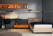 Teens boy bedroom