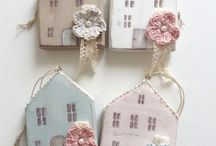 little wood houses