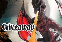 D&d red dragon miniature