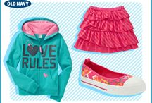 Old Navy Back to School Pinterest Board
