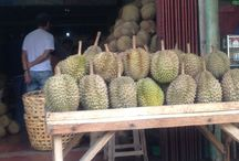 King's fruit called Durian / Ain't mad of eating it in fresh but the jam for bread as spread or adding up to your dessert, pies or tarts. Try once and you'll appreciate the exotic taste of Durian, the pride of Philippine the summer capital in Asia!