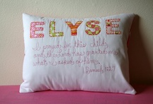 Crafts: Pillows / by Tyra Taff