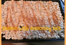 Pumpkin Seed Recipes / by Cynthia Coffield